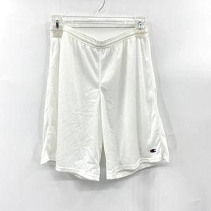 Champion B011 Mesh Gym Shorts White Size XL Men